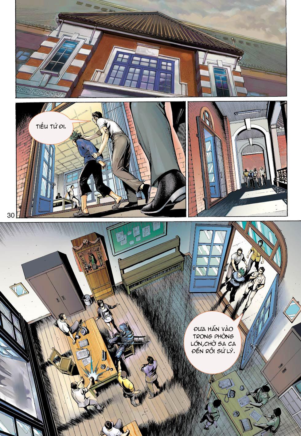 Thần Binh 4 chap 5 - Trang 30