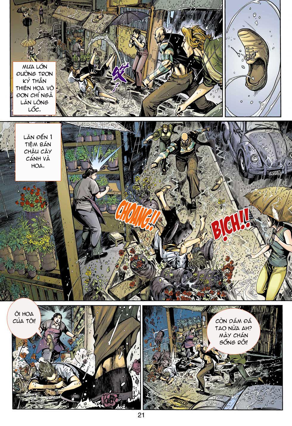 Thần Binh 4 chap 3 - Trang 21