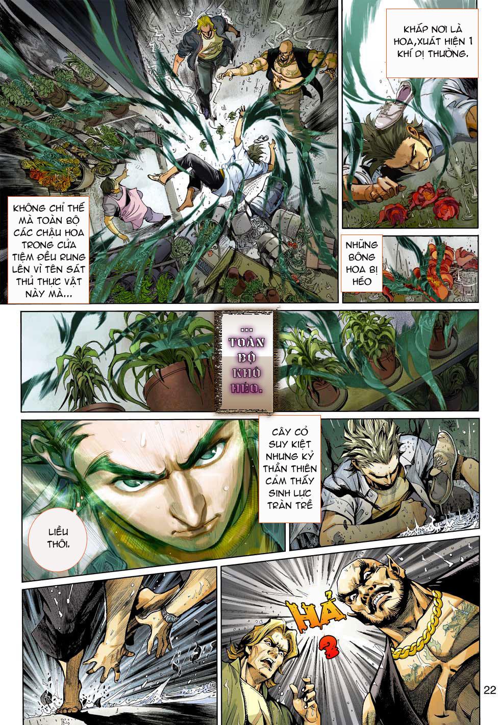 Thần Binh 4 chap 3 - Trang 22