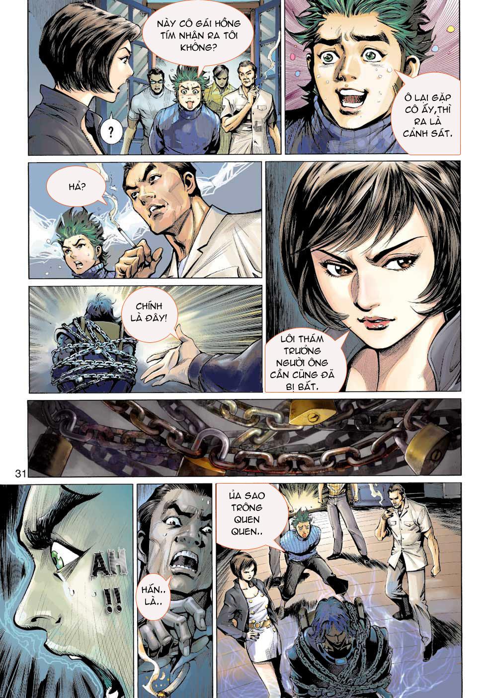 Thần Binh 4 chap 5 - Trang 31