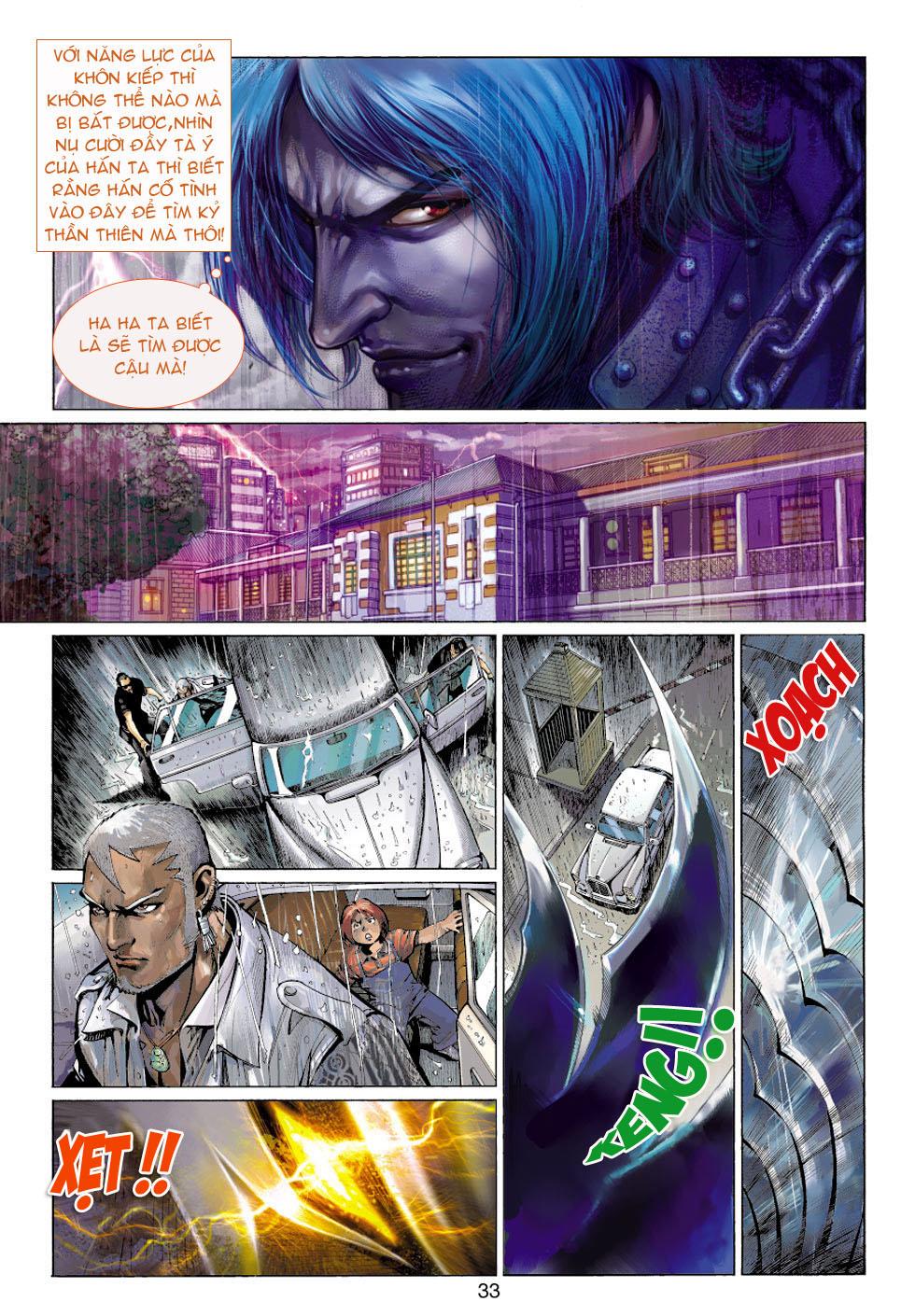 Thần Binh 4 chap 5 - Trang 33