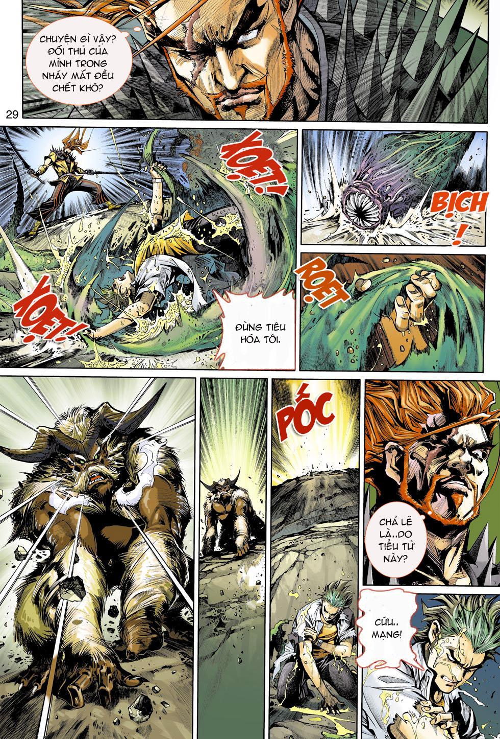 Thần Binh 4 chap 4 - Trang 29