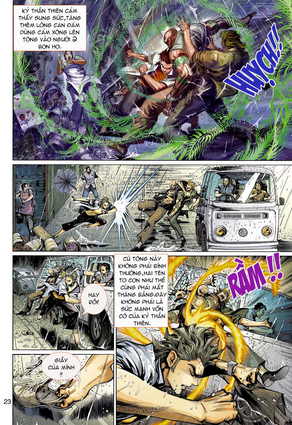 Thần Binh 4 chap 3 - Trang 23