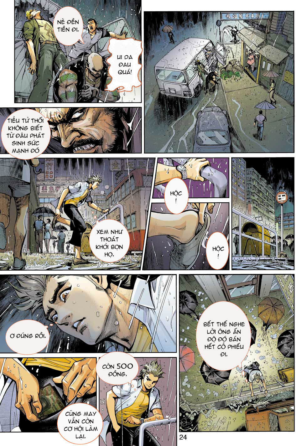 Thần Binh 4 chap 3 - Trang 24