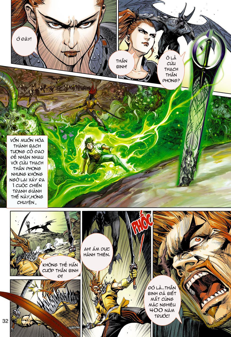 Thần Binh 4 chap 4 - Trang 32