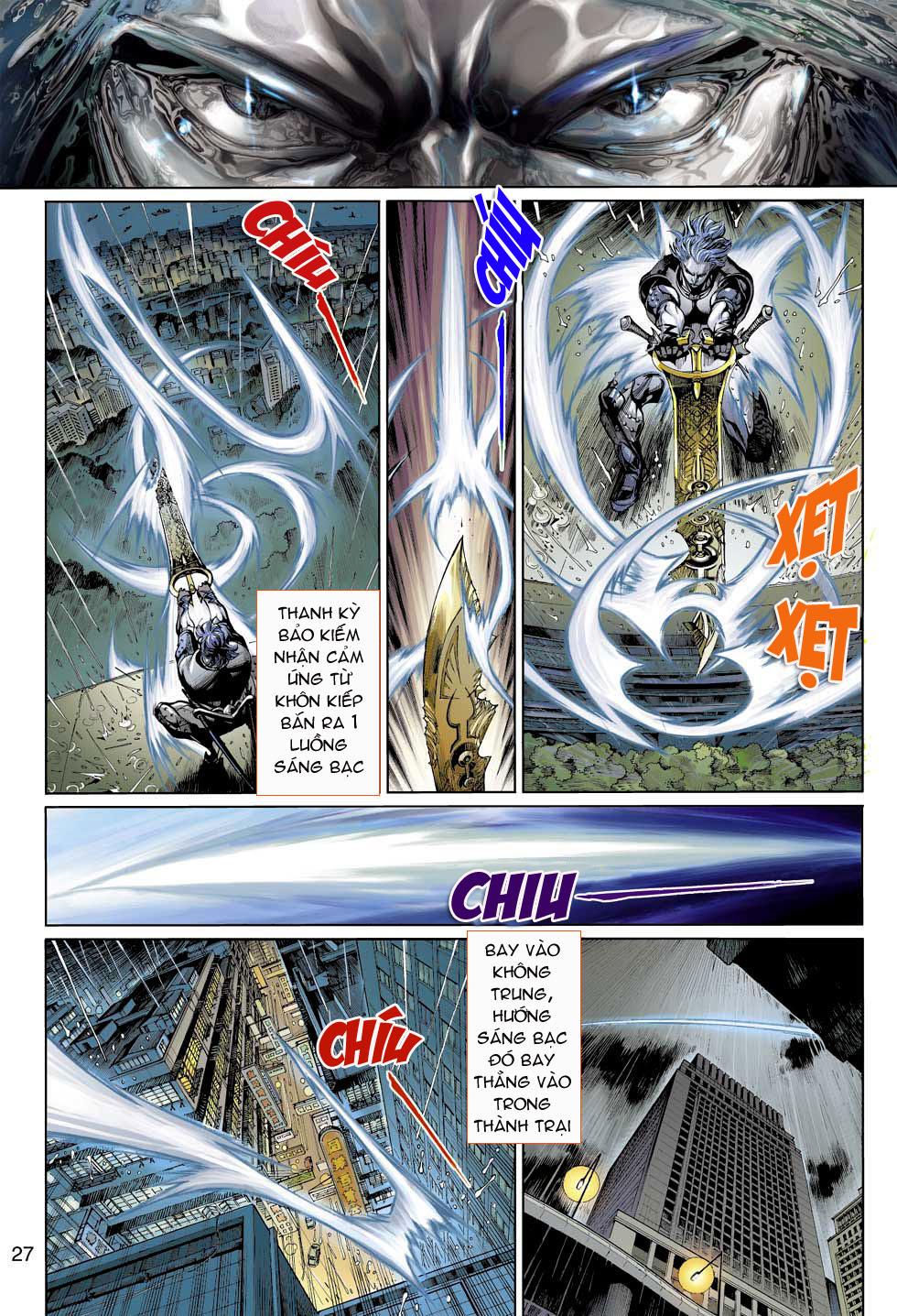 Thần Binh 4 chap 3 - Trang 27
