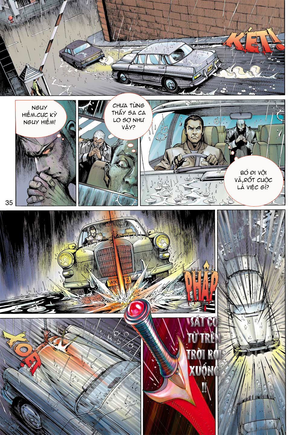 Thần Binh 4 chap 7 - Trang 35