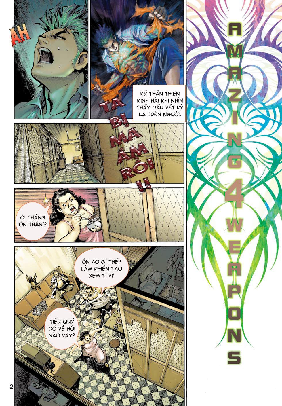 Thần Binh 4 chap 5 - Trang 2