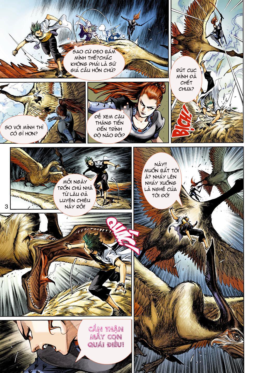 Thần Binh 4 chap 4 - Trang 3