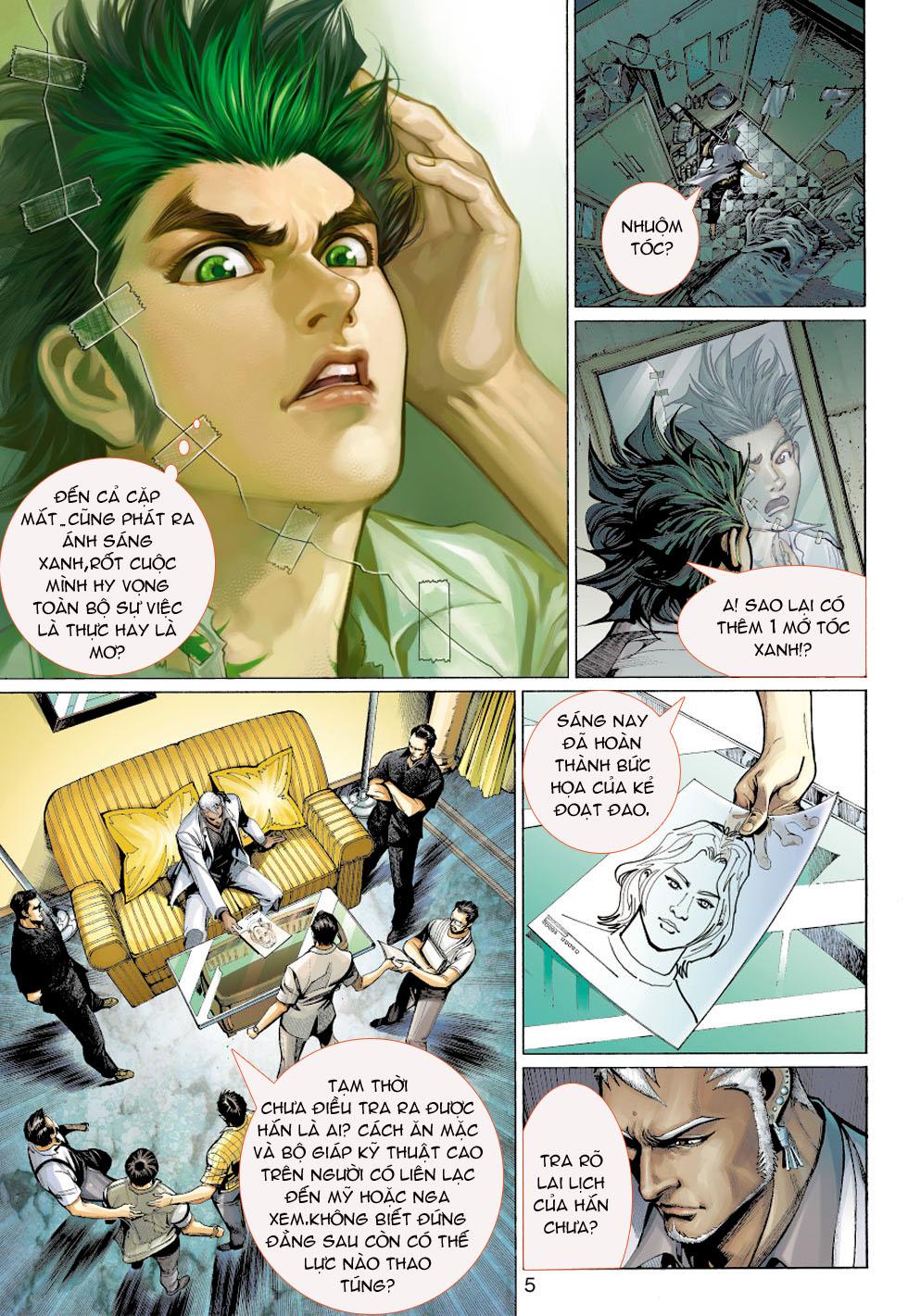 Thần Binh 4 chap 5 - Trang 5