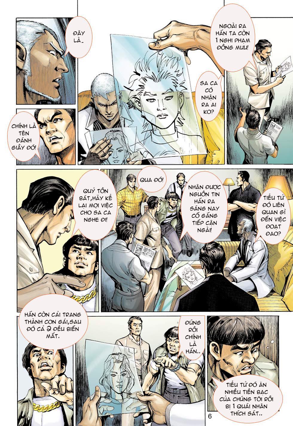 Thần Binh 4 chap 5 - Trang 6