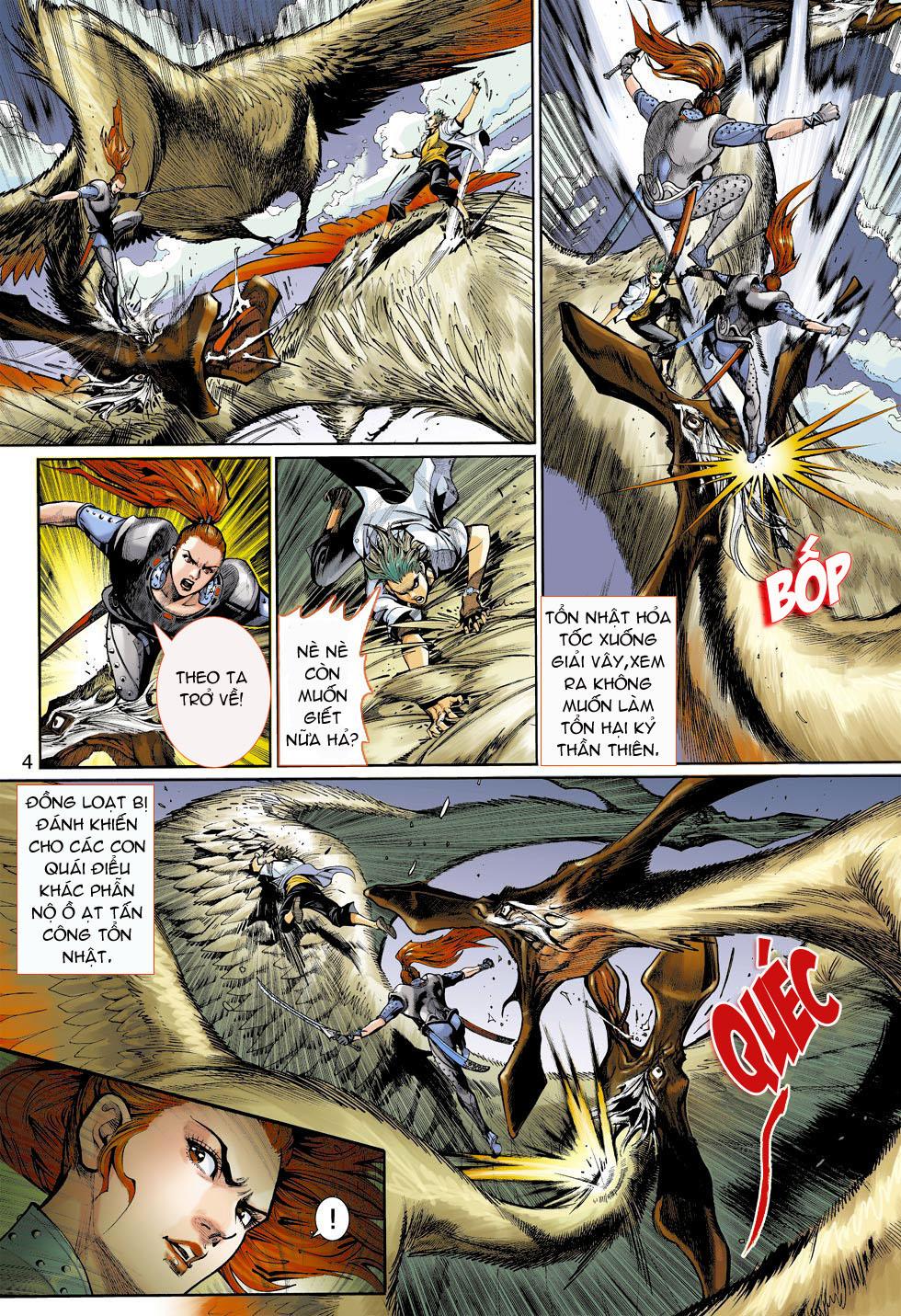 Thần Binh 4 chap 4 - Trang 4