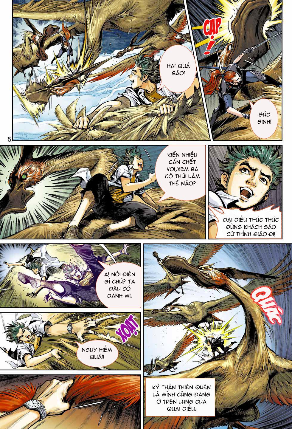 Thần Binh 4 chap 4 - Trang 5