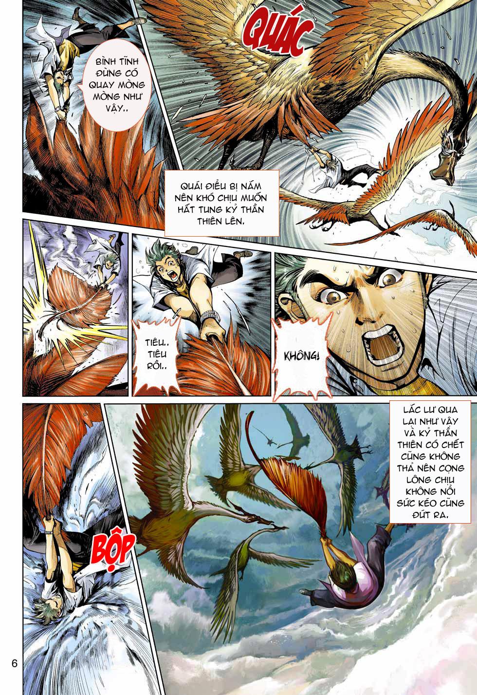 Thần Binh 4 chap 4 - Trang 6