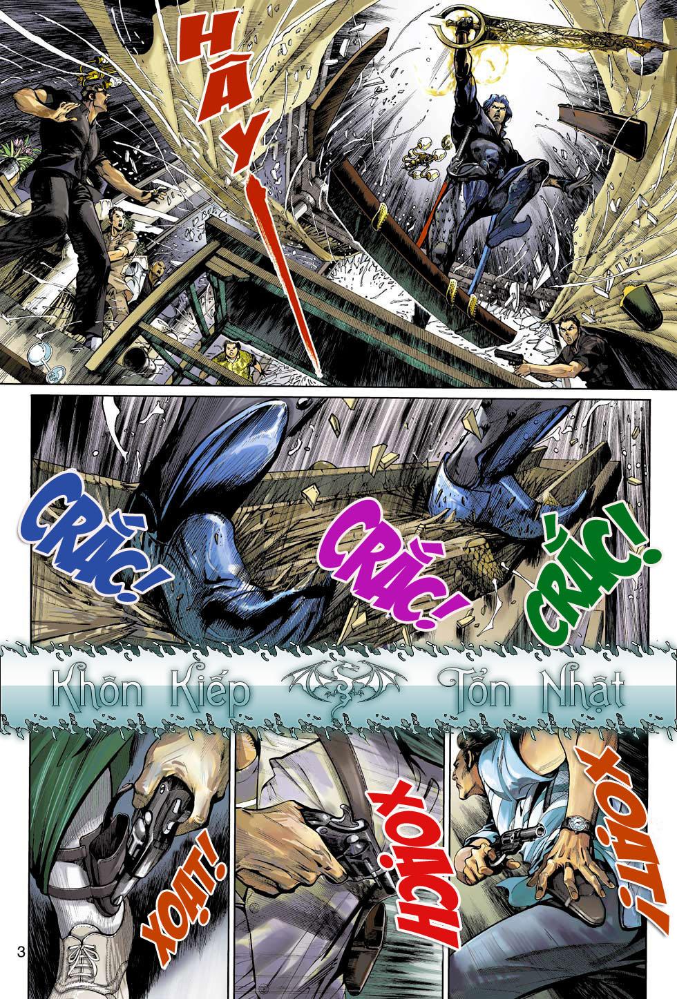 Thần Binh 4 chap 3 - Trang 3