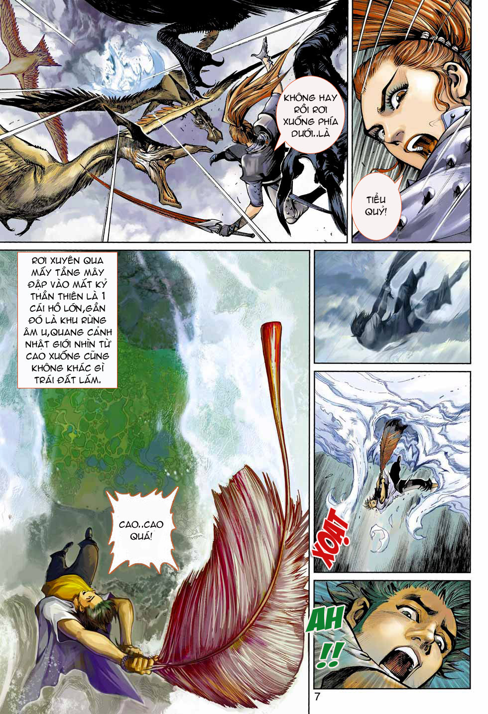Thần Binh 4 chap 4 - Trang 7