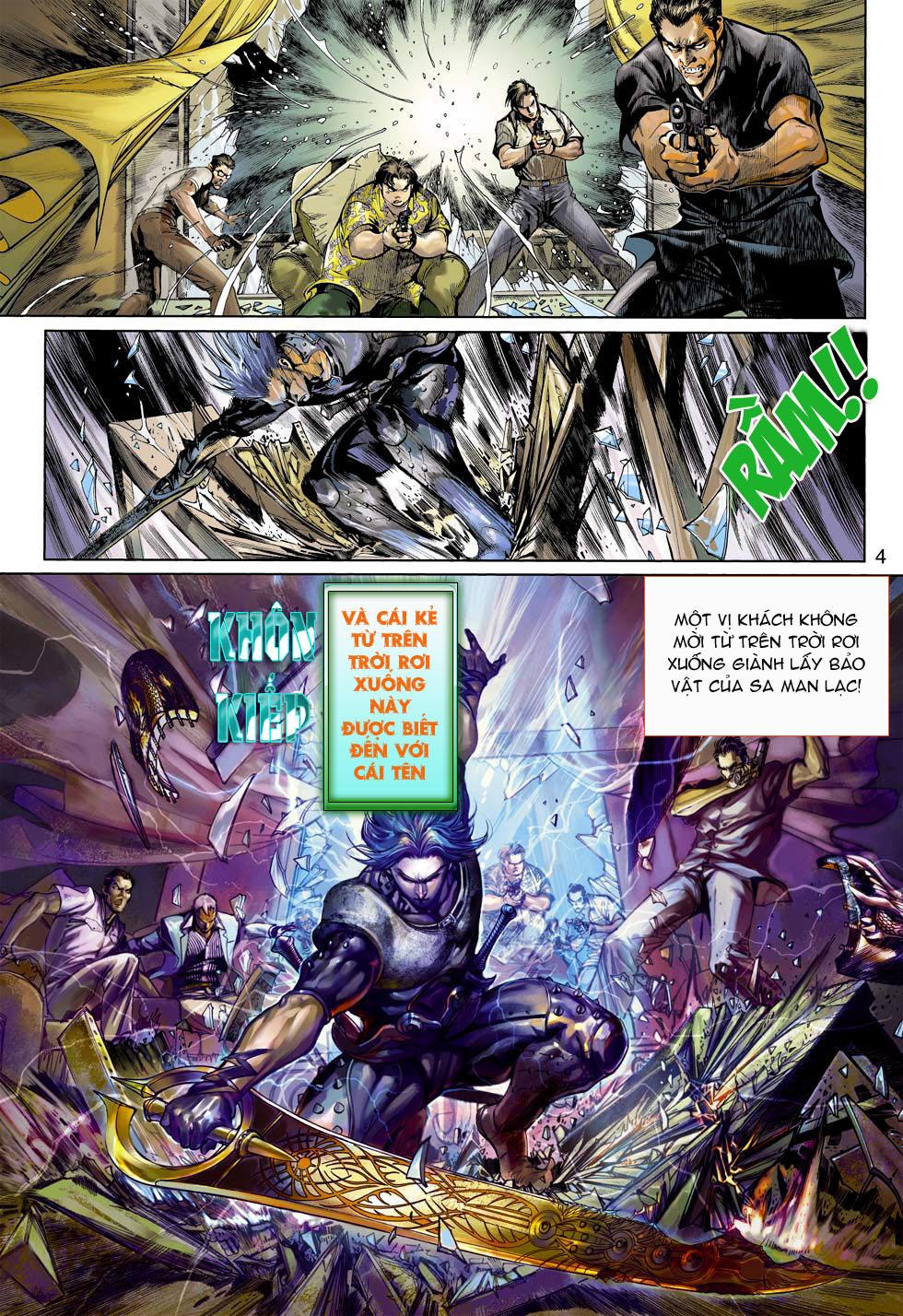Thần Binh 4 chap 3 - Trang 4