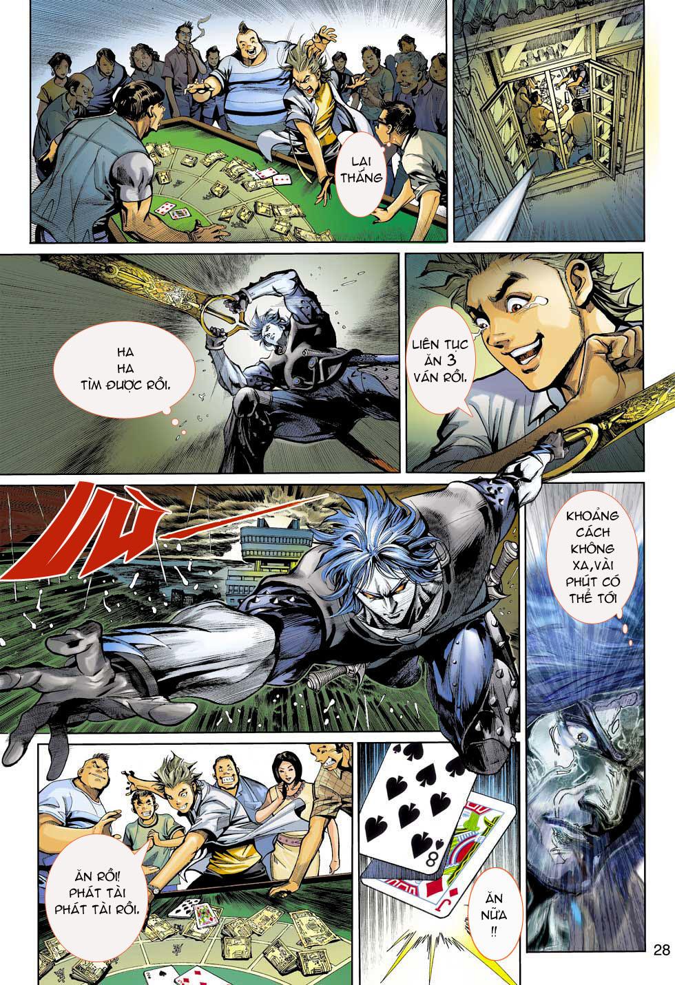 Thần Binh 4 chap 3 - Trang 28