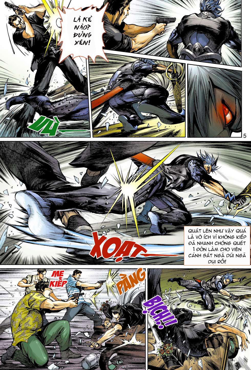 Thần Binh 4 chap 3 - Trang 5