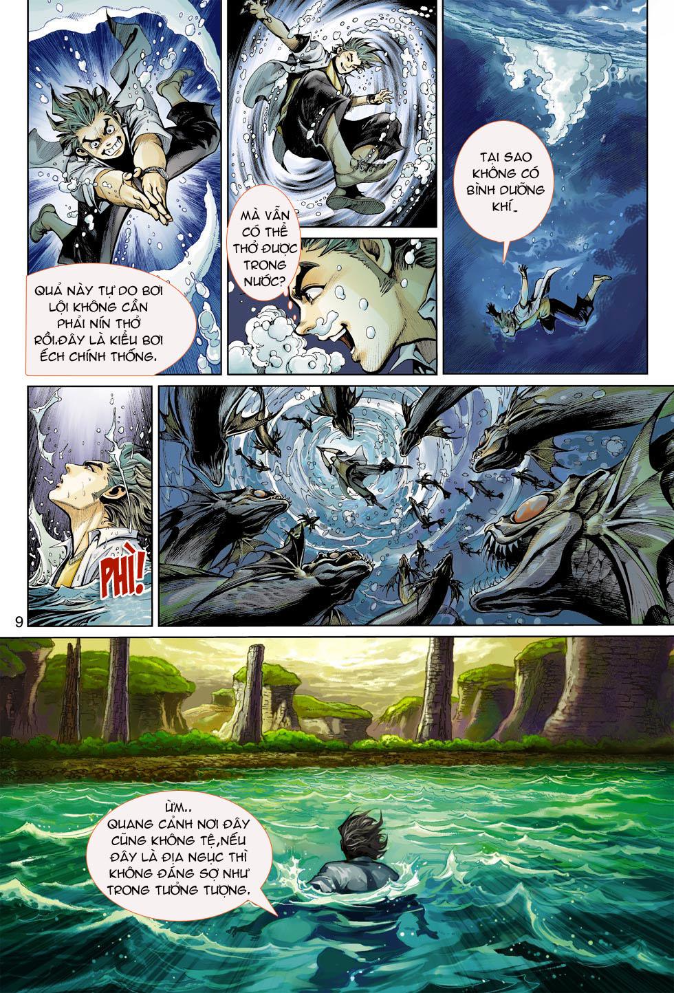 Thần Binh 4 chap 4 - Trang 9
