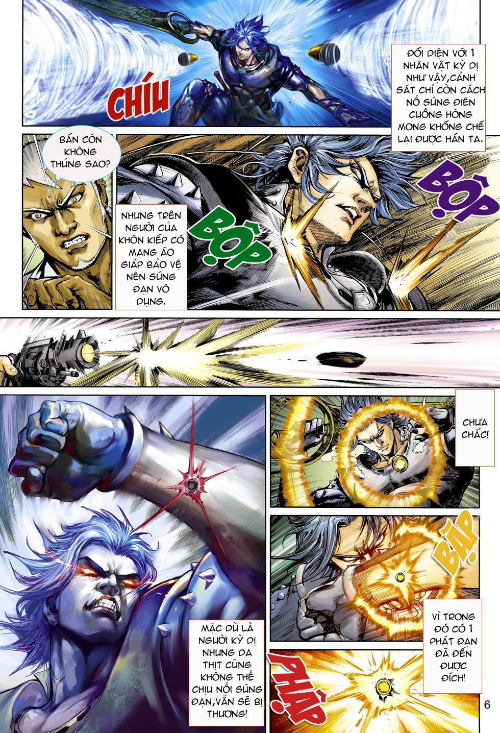 Thần Binh 4 chap 3 - Trang 6