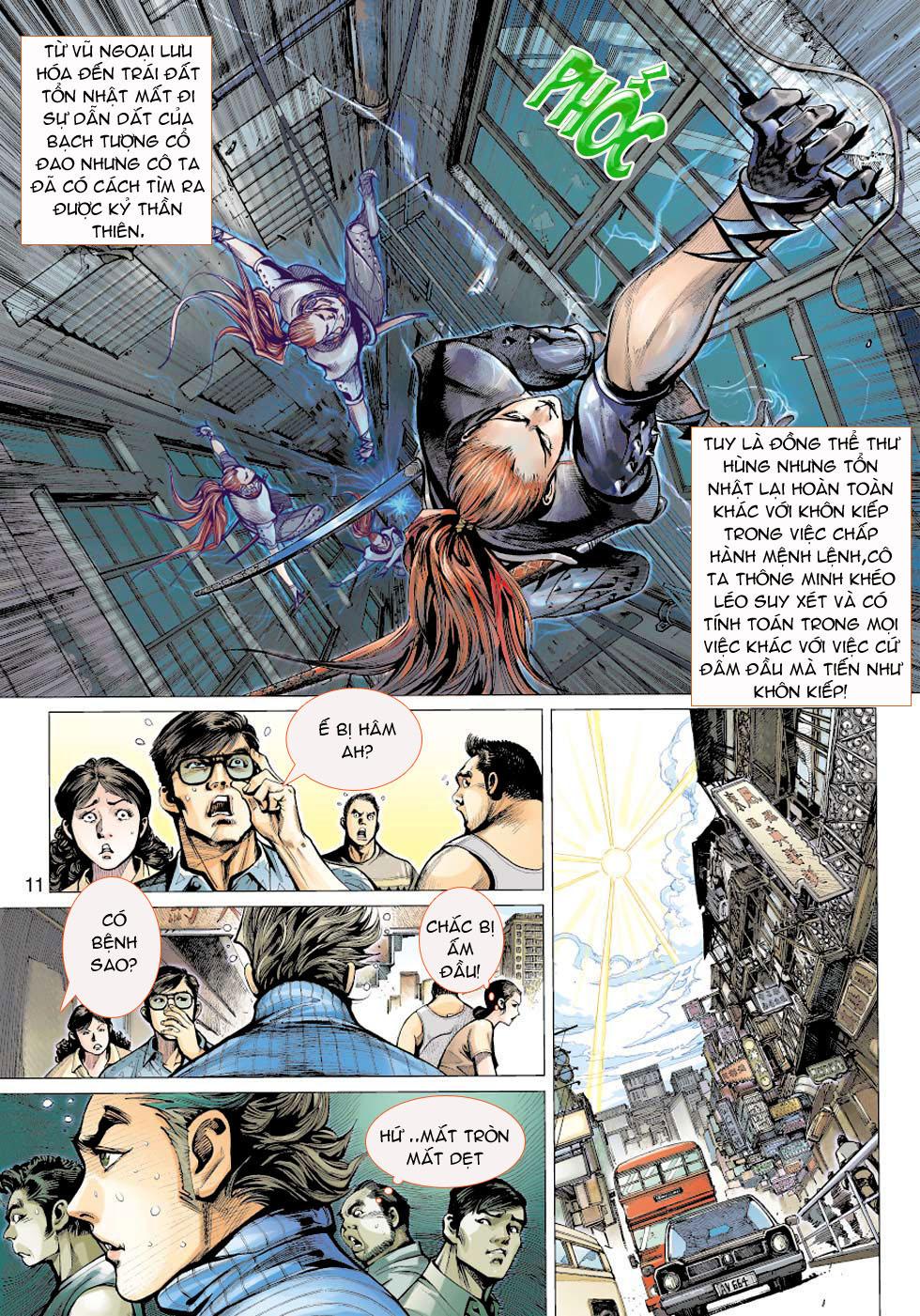Thần Binh 4 chap 5 - Trang 11