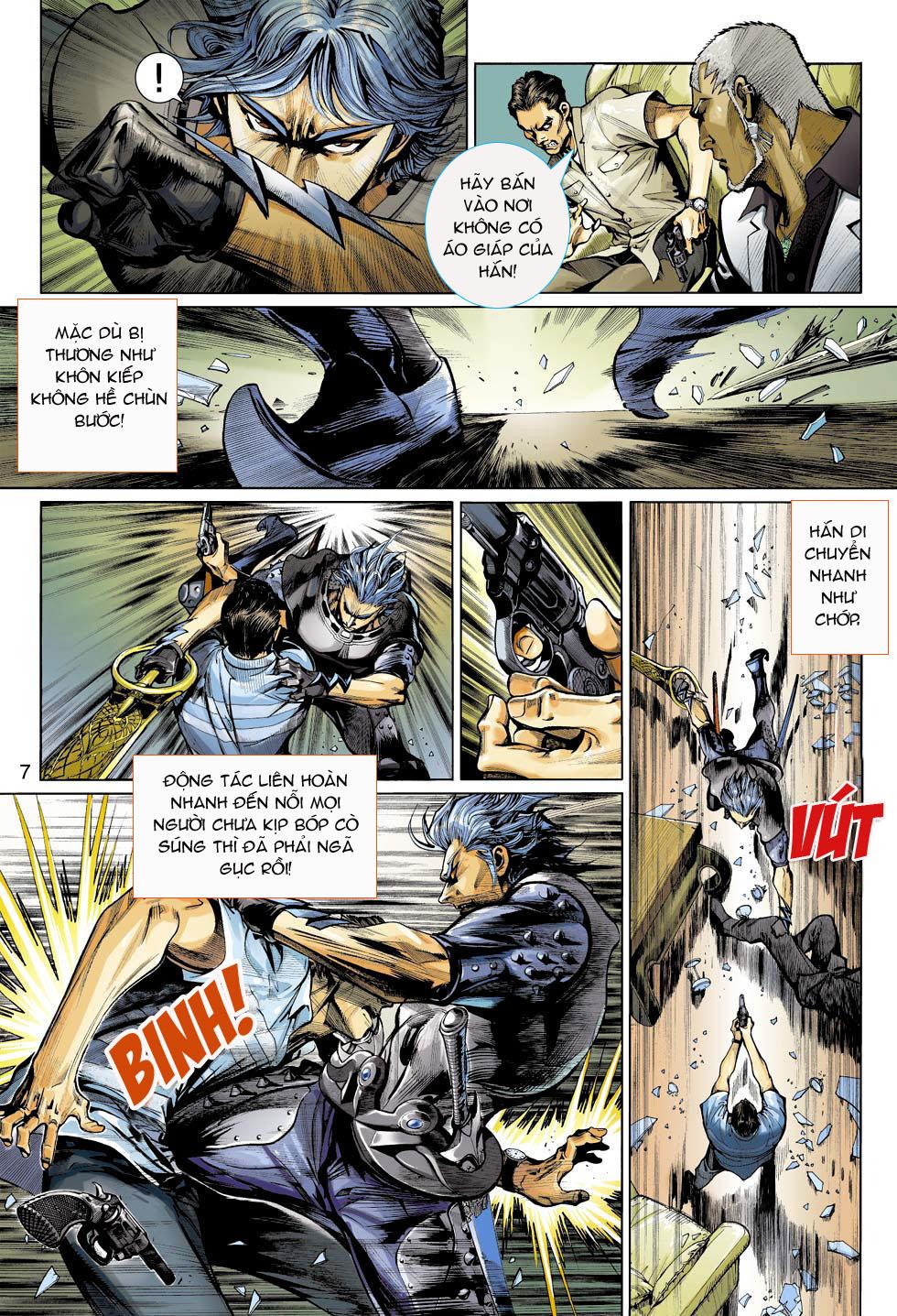 Thần Binh 4 chap 3 - Trang 7
