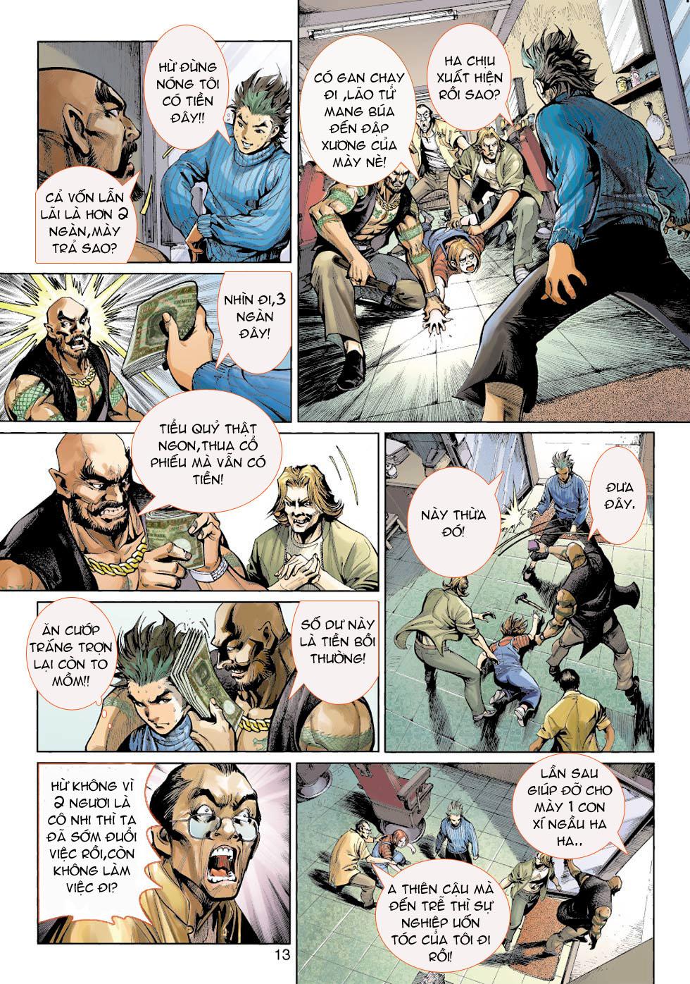 Thần Binh 4 chap 5 - Trang 13