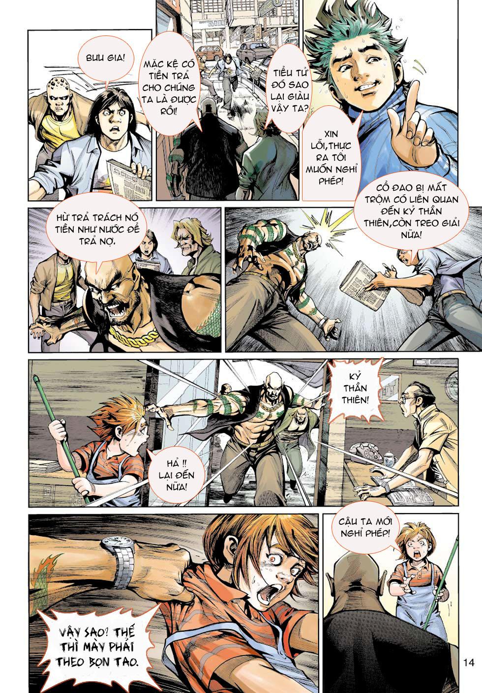 Thần Binh 4 chap 5 - Trang 14