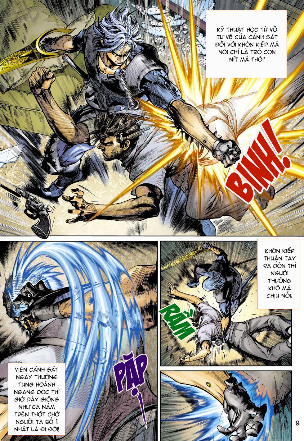 Thần Binh 4 chap 3 - Trang 9