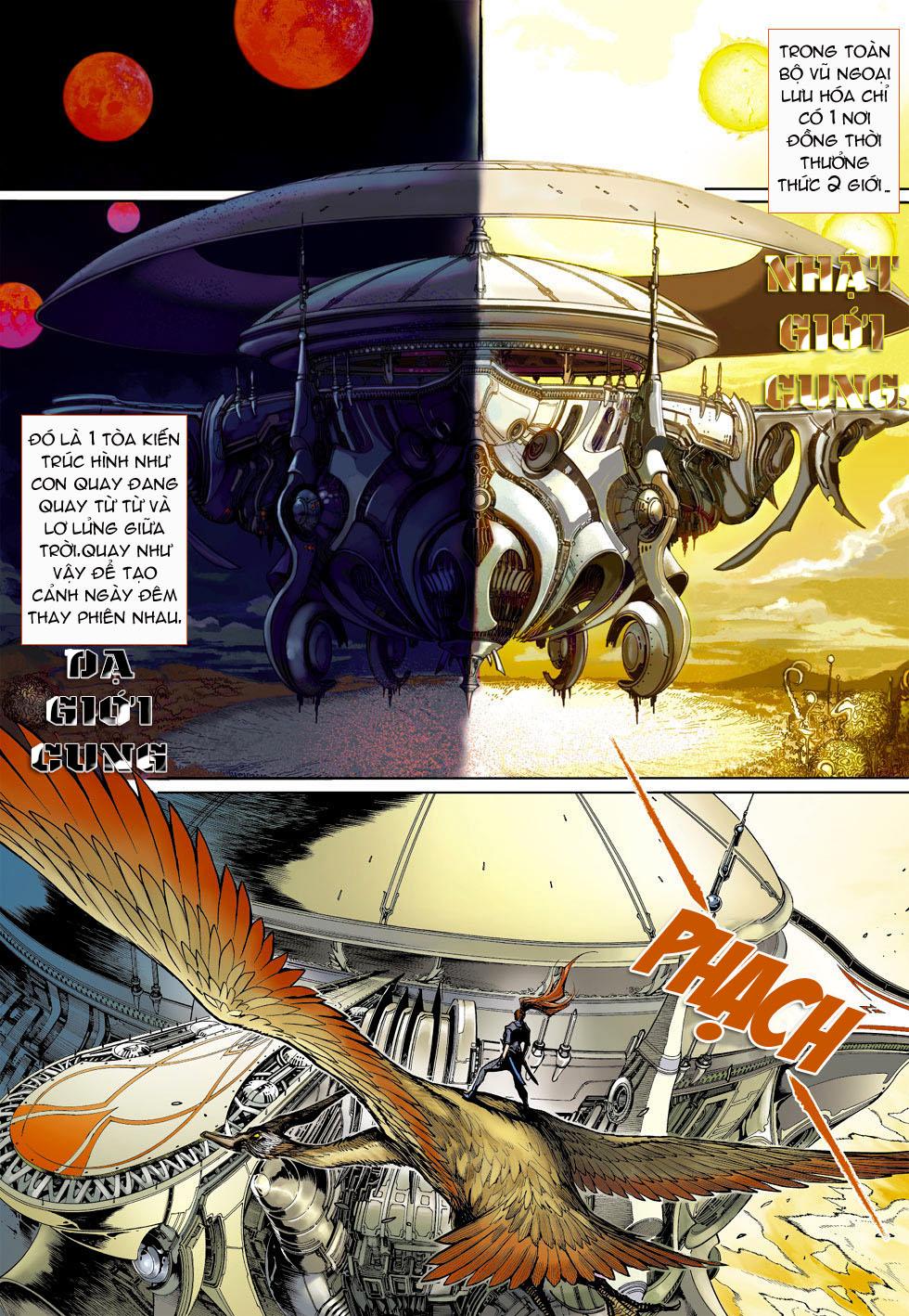 Thần Binh 4 chap 4 - Trang 13