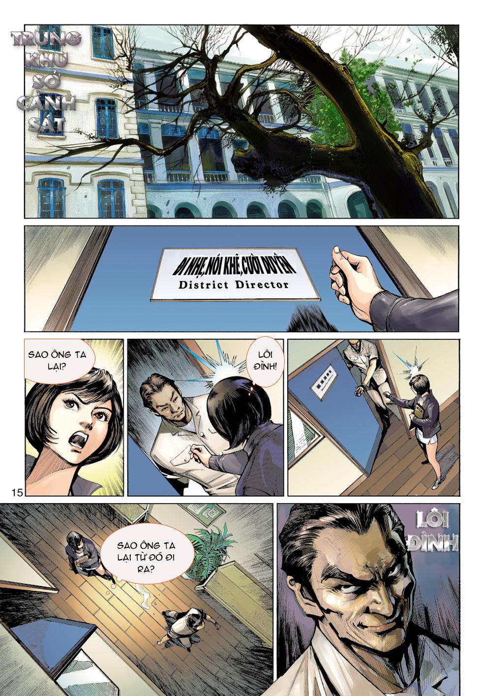 Thần Binh 4 chap 5 - Trang 15