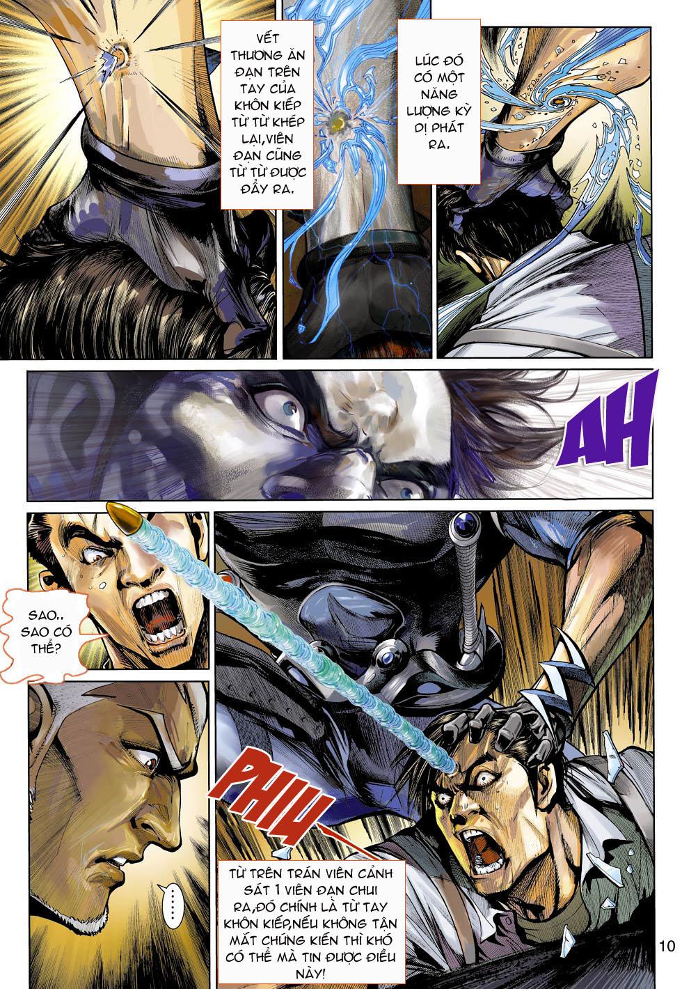 Thần Binh 4 chap 3 - Trang 10
