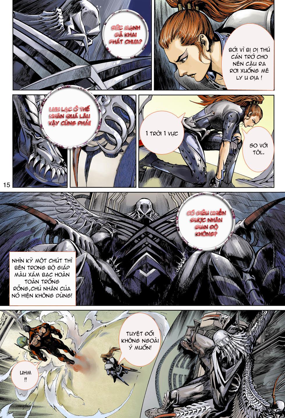 Thần Binh 4 chap 4 - Trang 15