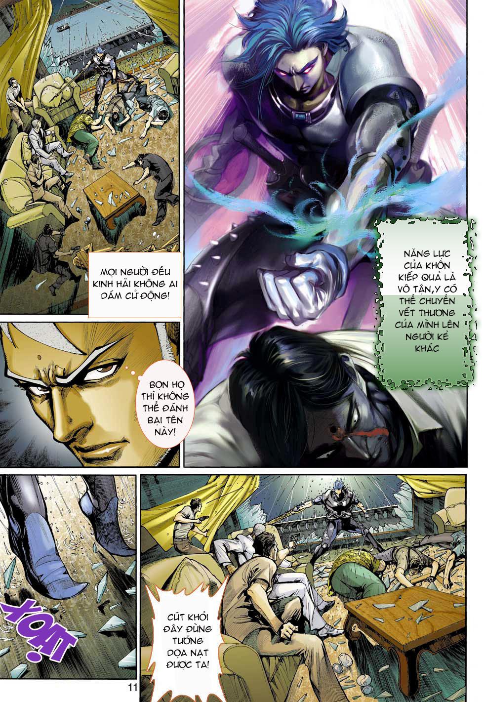 Thần Binh 4 chap 3 - Trang 11