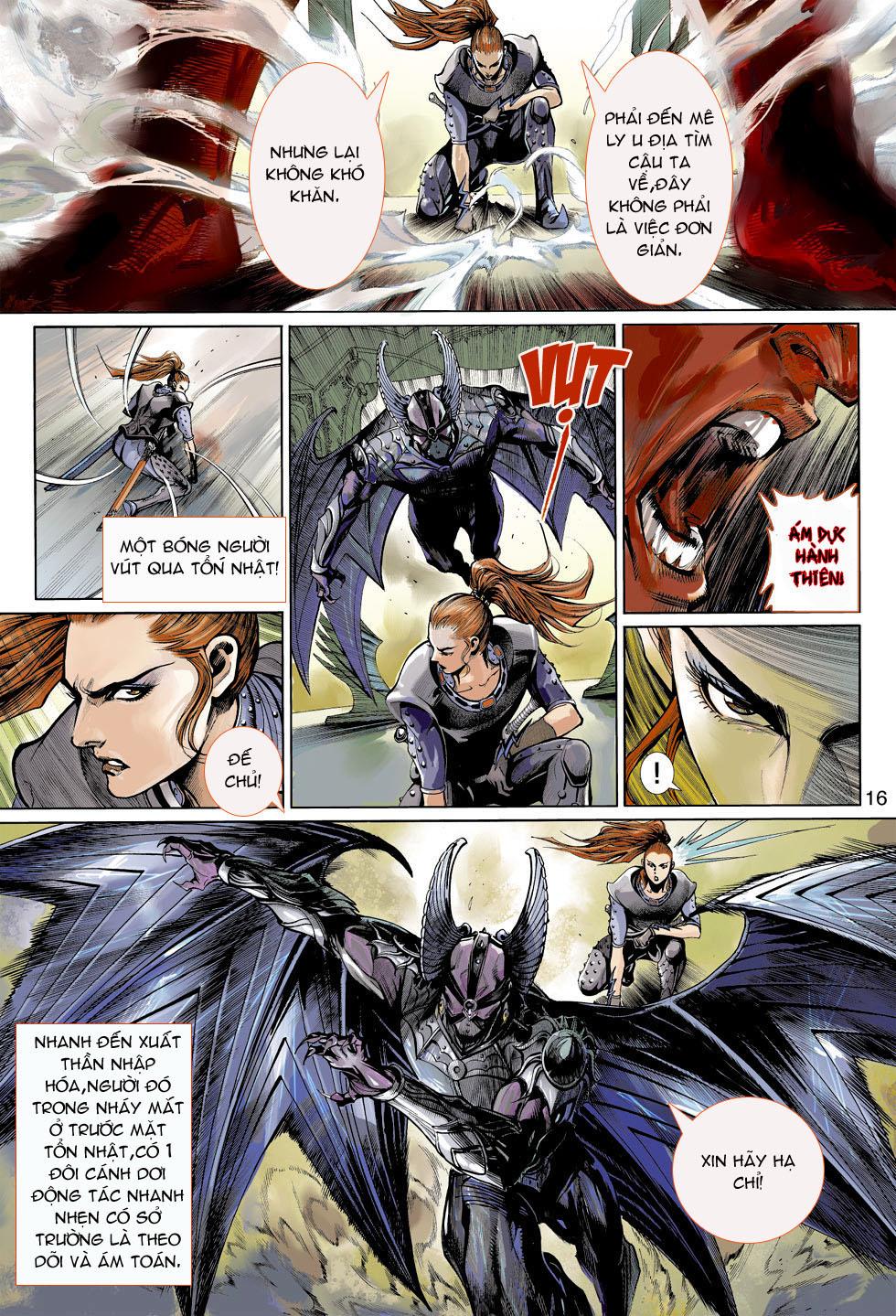 Thần Binh 4 chap 4 - Trang 16