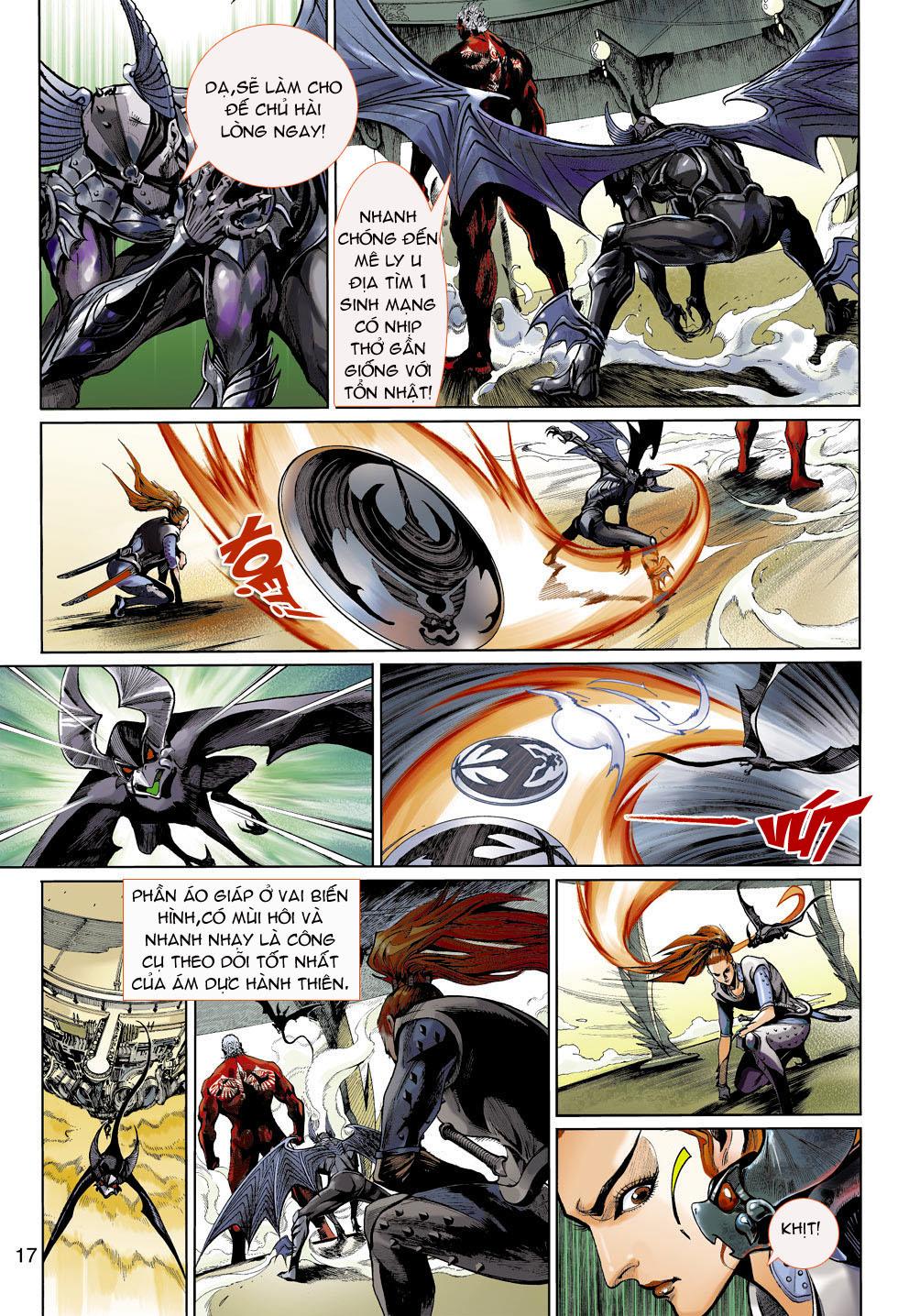 Thần Binh 4 chap 4 - Trang 17