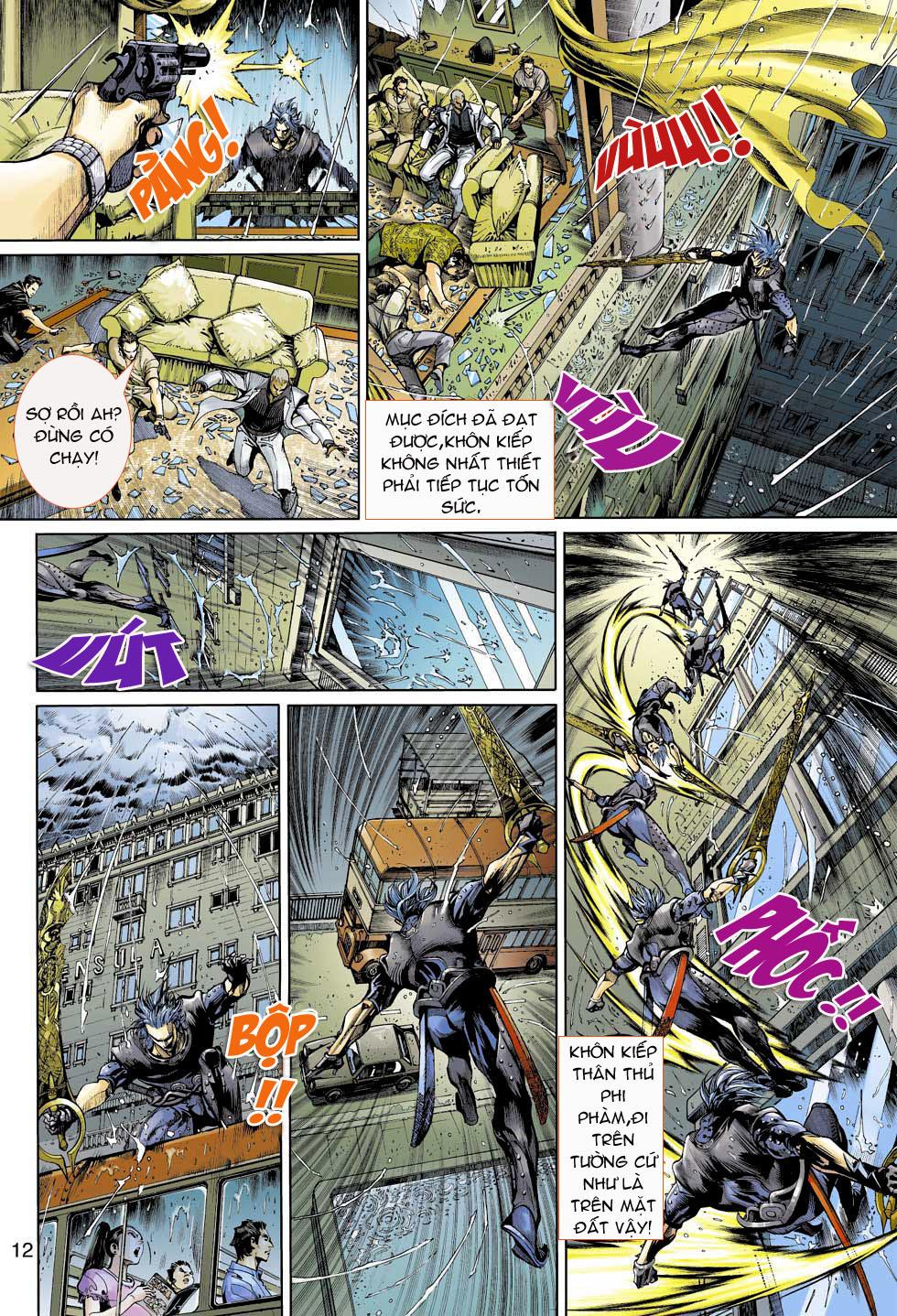 Thần Binh 4 chap 3 - Trang 12