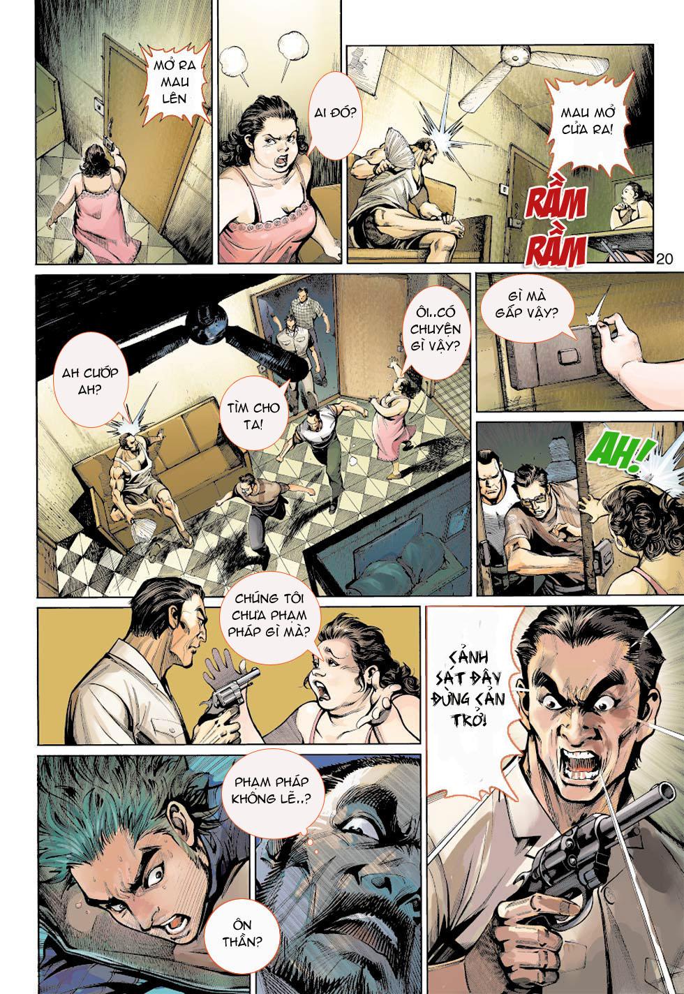 Thần Binh 4 chap 5 - Trang 20