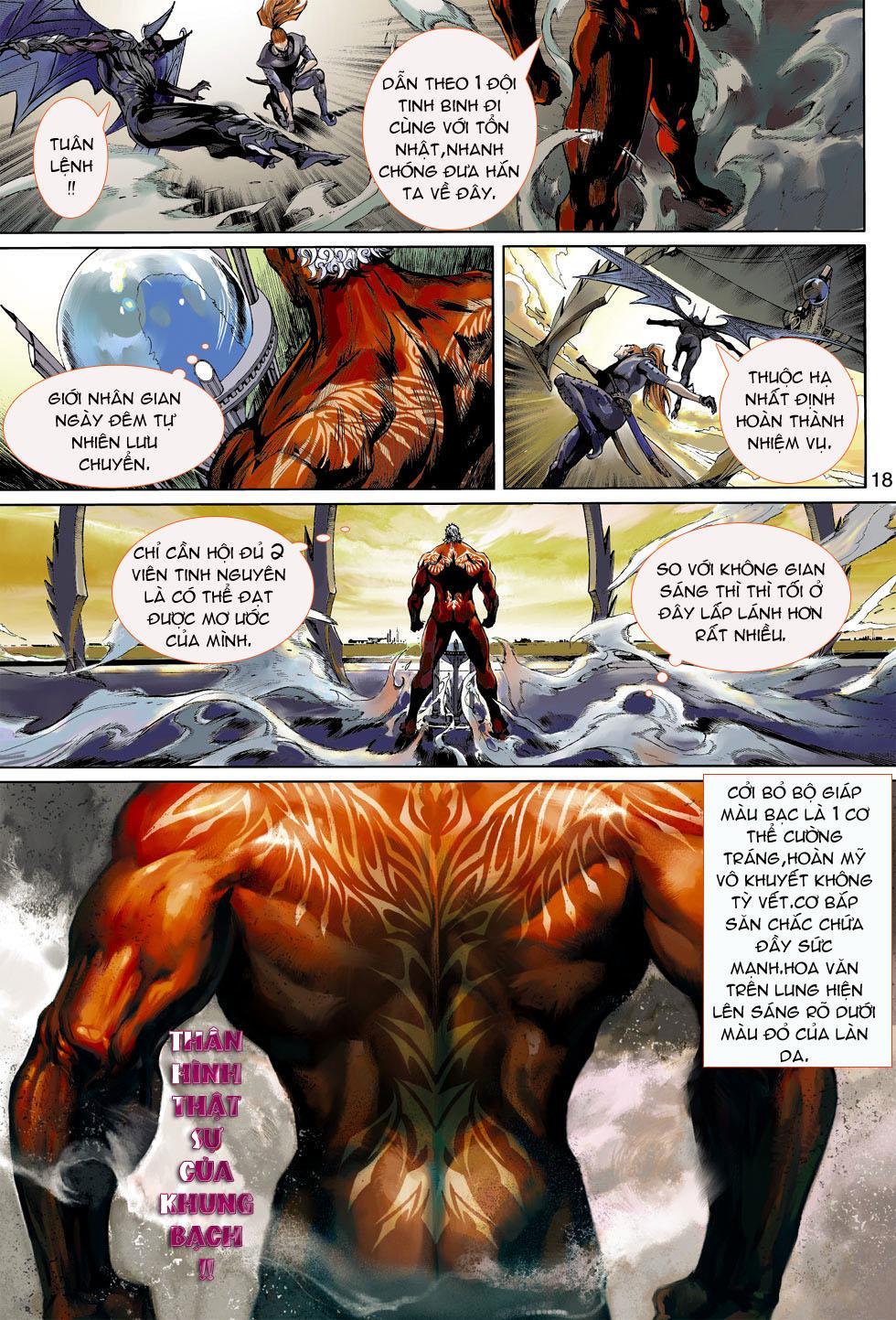 Thần Binh 4 chap 4 - Trang 18