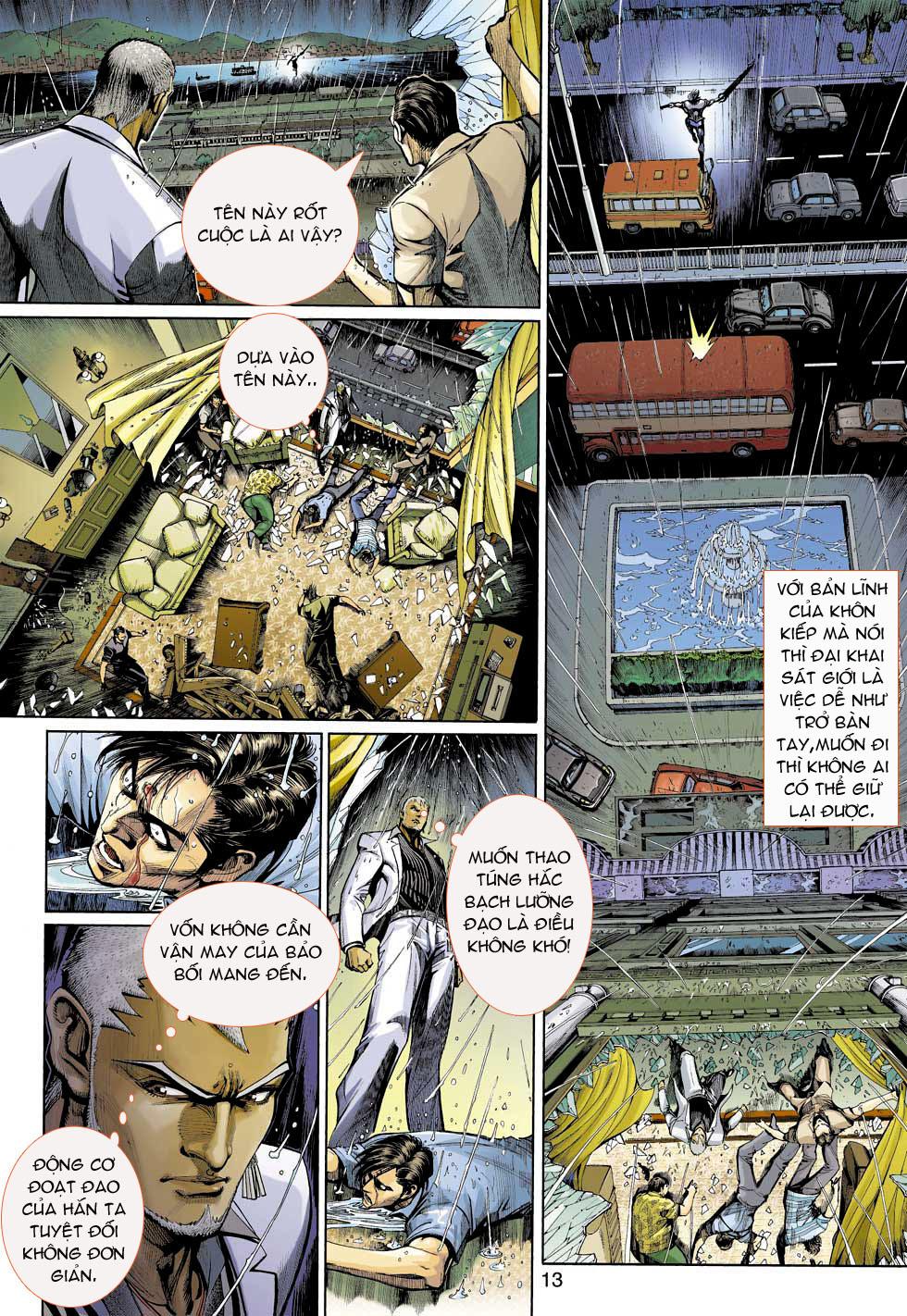 Thần Binh 4 chap 3 - Trang 13
