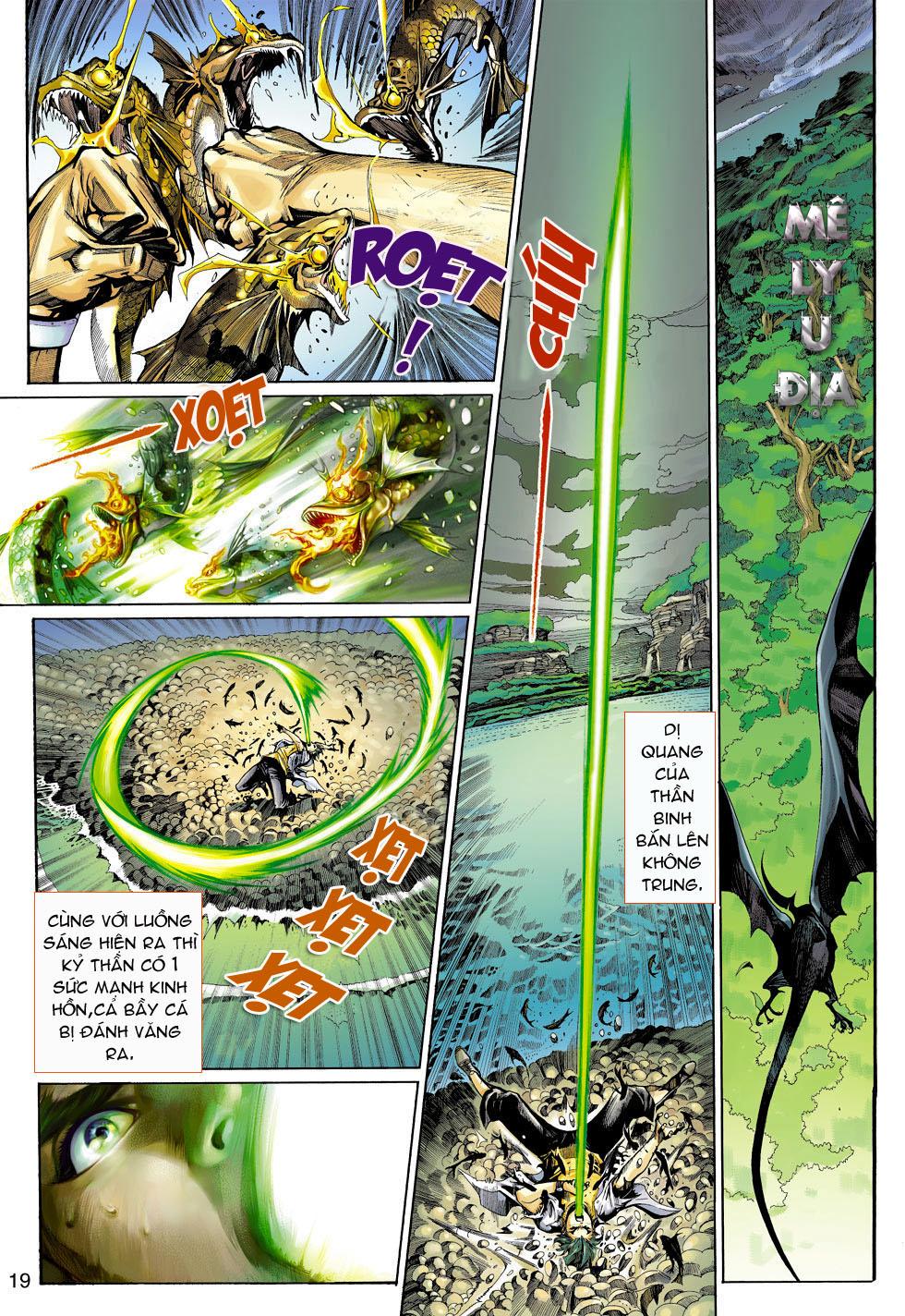Thần Binh 4 chap 4 - Trang 19