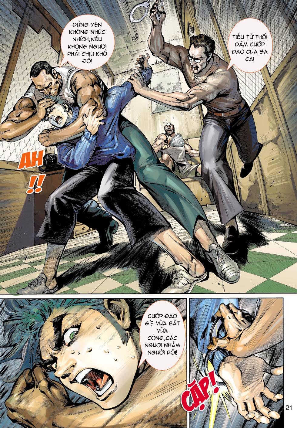 Thần Binh 4 chap 5 - Trang 21