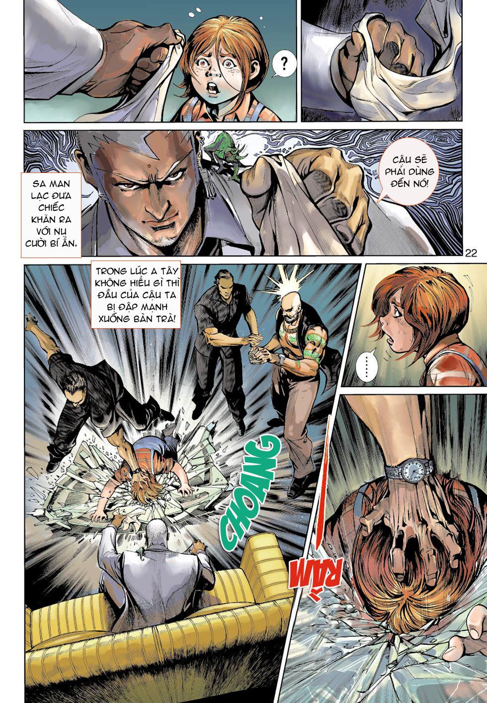 Thần Binh 4 chap 5 - Trang 22