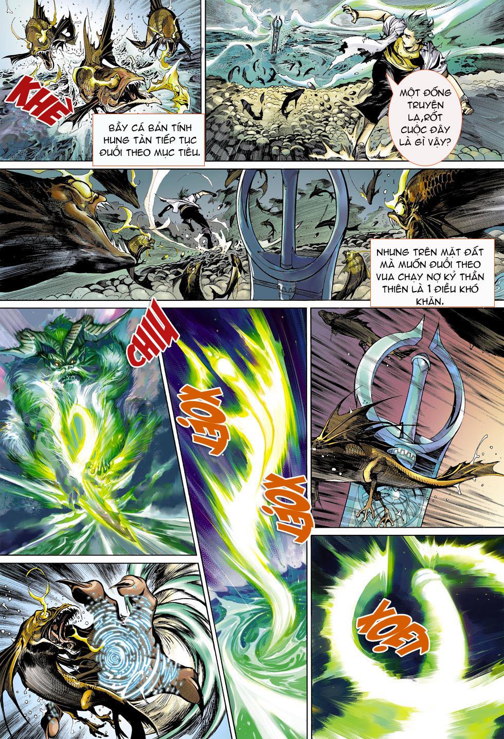 Thần Binh 4 chap 4 - Trang 21