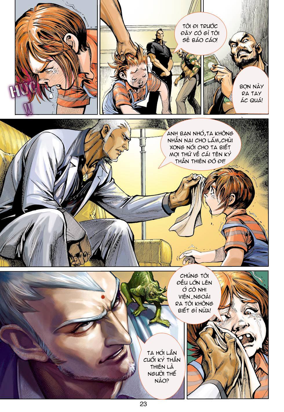 Thần Binh 4 chap 5 - Trang 23