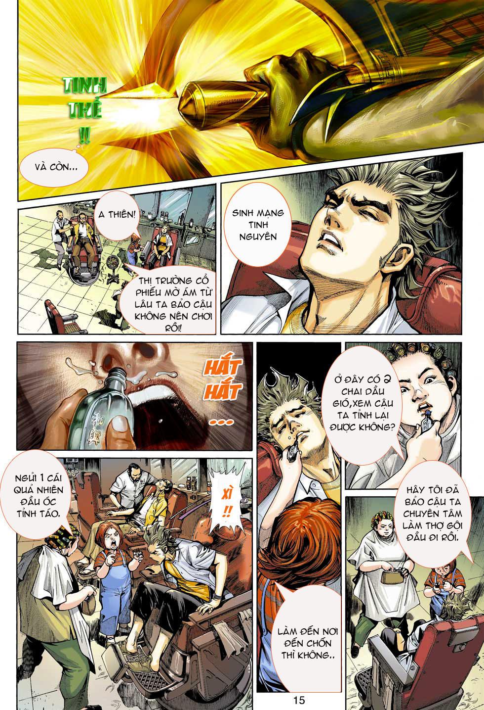 Thần Binh 4 chap 3 - Trang 15