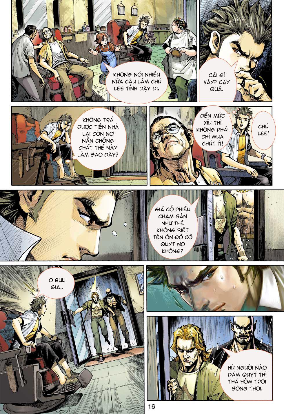 Thần Binh 4 chap 3 - Trang 16