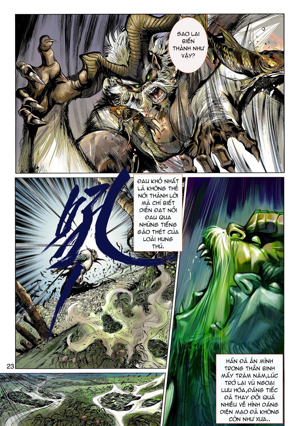 Thần Binh 4 chap 4 - Trang 23