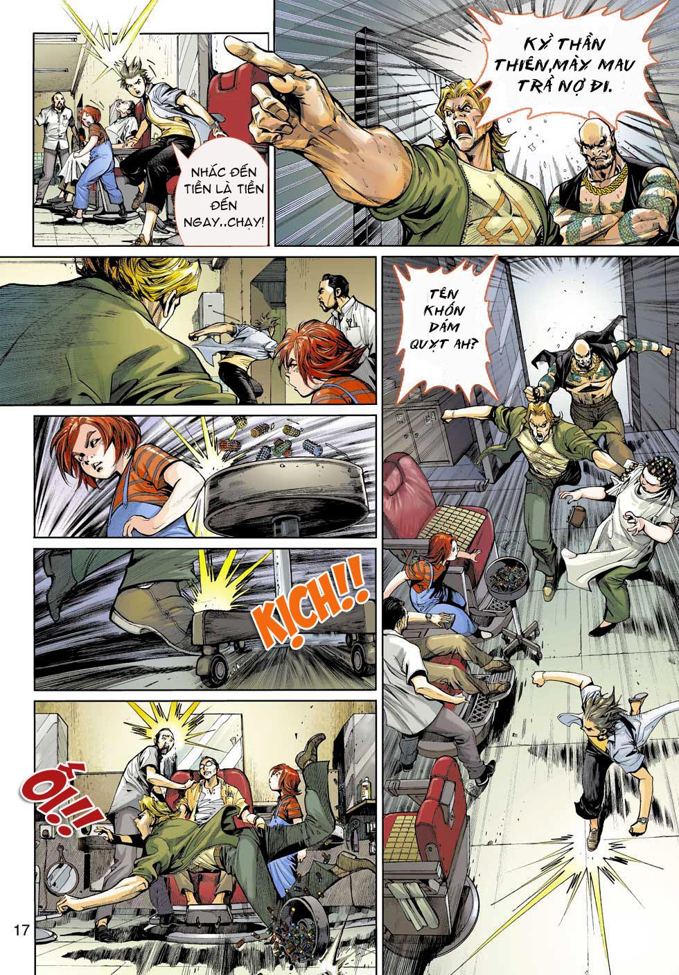 Thần Binh 4 chap 3 - Trang 17